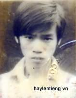 Ảnh anh Nguyễn Tấn Hùng lúc nhỏ