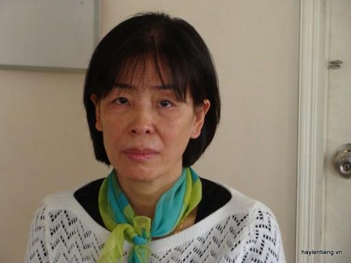 Bà Bùi Thị Đông