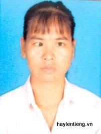 Chị Lâm Thị Minh tâm