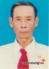 Ông Trần Văn Quang, người em con cô của ông Mục, Quyền và Trọng