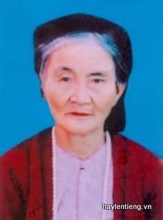 Bà Nguyễn Thị Mến