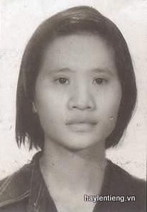 Cô Lê Thị Hằng Nga lúc trẻ