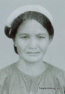 Ảnh bà Chúc ( năm 1987)