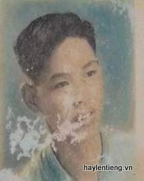 Ông Ngô Văn Anh lúc trẻ