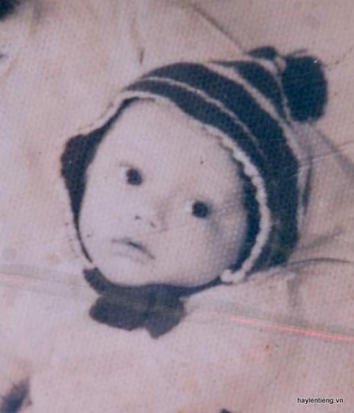 Anh Nguyễn Văn Tùng lúc nhỏ
