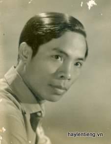 Ông  Nguyễn Ngọc Ô lúc trẻ