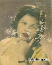 Bà Đỗ Thị Sâm lúc trẻ