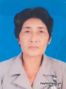 Bà Nguyễn Thị Chai