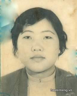 Bà Võ Thị Mẫn lúc trẻ
