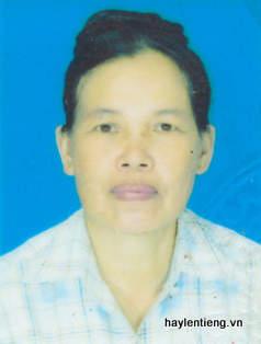 Bà Trần Thị Hương