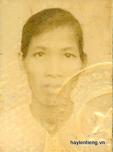 Bà Nguyễn Thị Bực