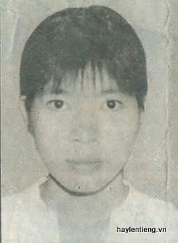 Trần Thị Vượng -  người dẫn bé Hân Nghi đi mất
