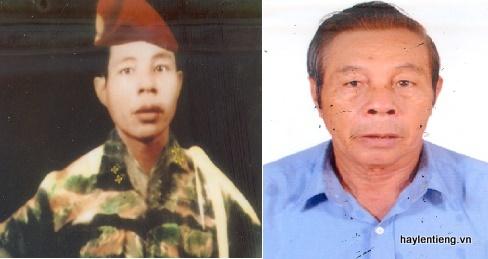 Chú Phạm Thanh Minh lúc trẻ và hiện nay