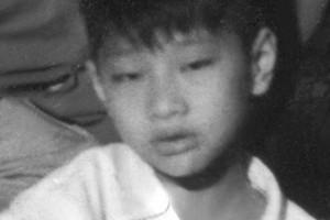 Anh Lưu Tùng Bảo lúc nhỏ