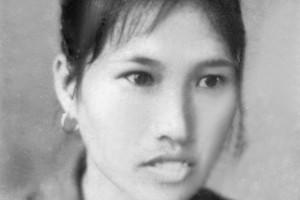 Bà Trần Thị Phương lúc trẻ