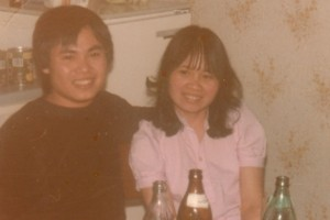 Lường Phúc Thuận (trái)
