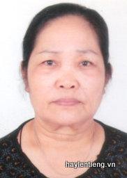 Bà Vũ Thị Tươm