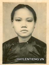 Bà Ngô Thị Liễu